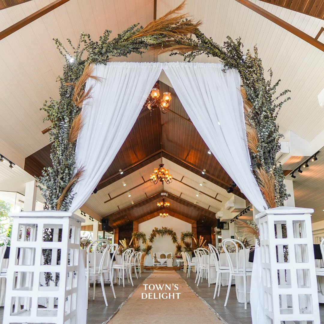 towns delight-catering venue leanels garden tagaytay cavite