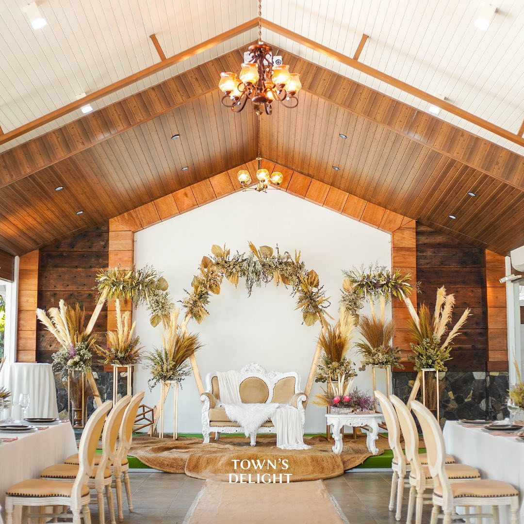Town's Delight Catering & Events at Leanel's Garden Tagaytay Venue